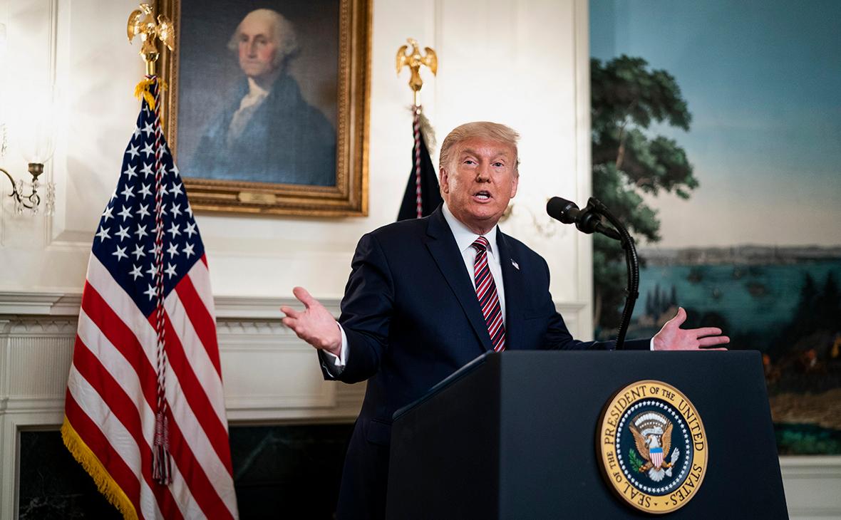 Трамп подверг критике ряд американских телеканалов, проигнорировавших новость о его выдвижении на Нобелевскую премию
