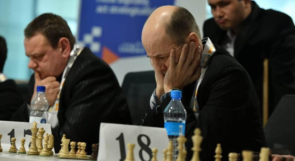 Вничью с Дарменом Садвакасовым сыграли сотрудники промышленных предприятий Казахстана