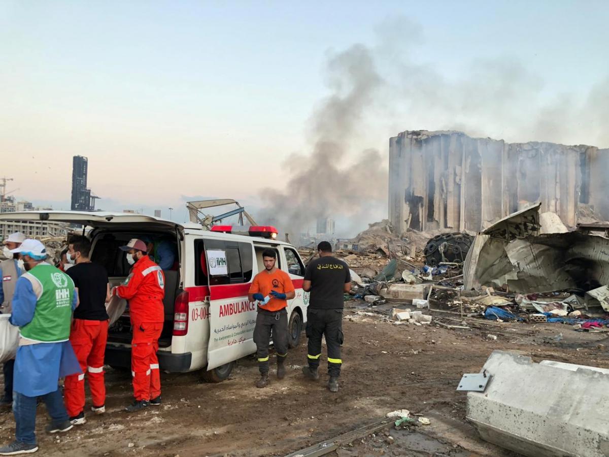 В пострадавшем от взрывов Ливане зафиксирован рекордный прирост новых случаев COVID-19