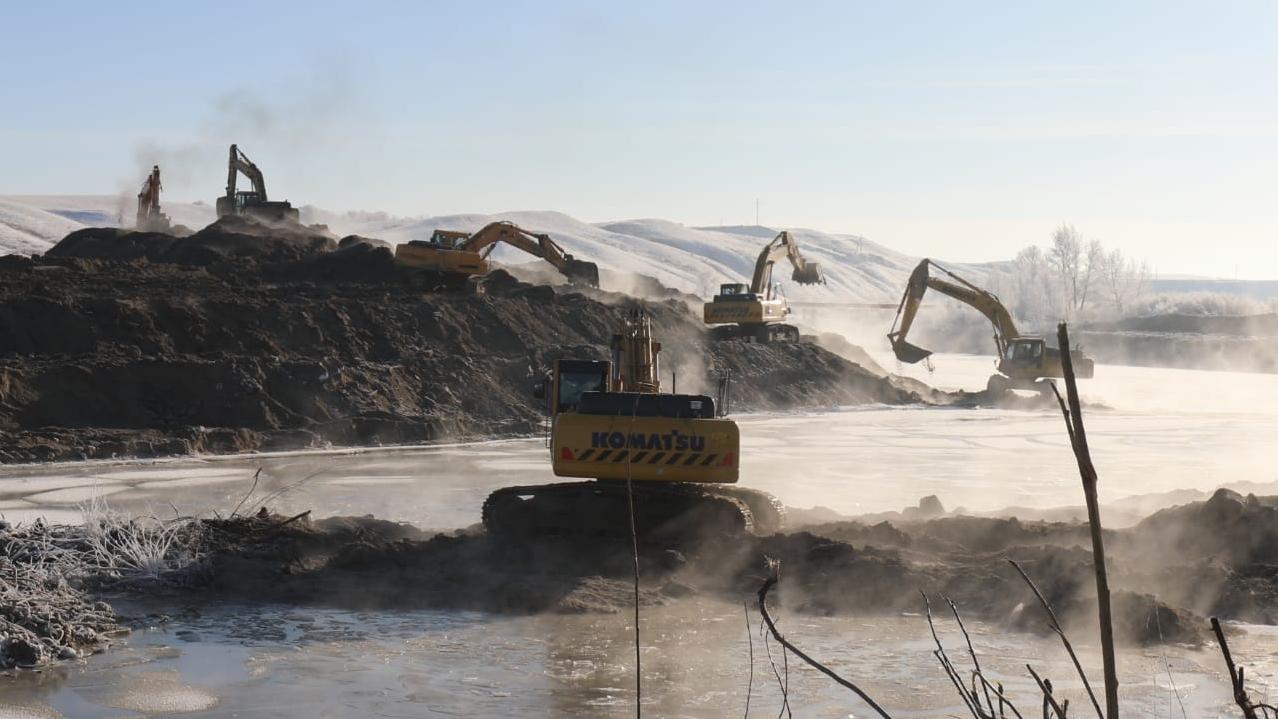 Приостановлены работы по расширению русла рек в Актобе