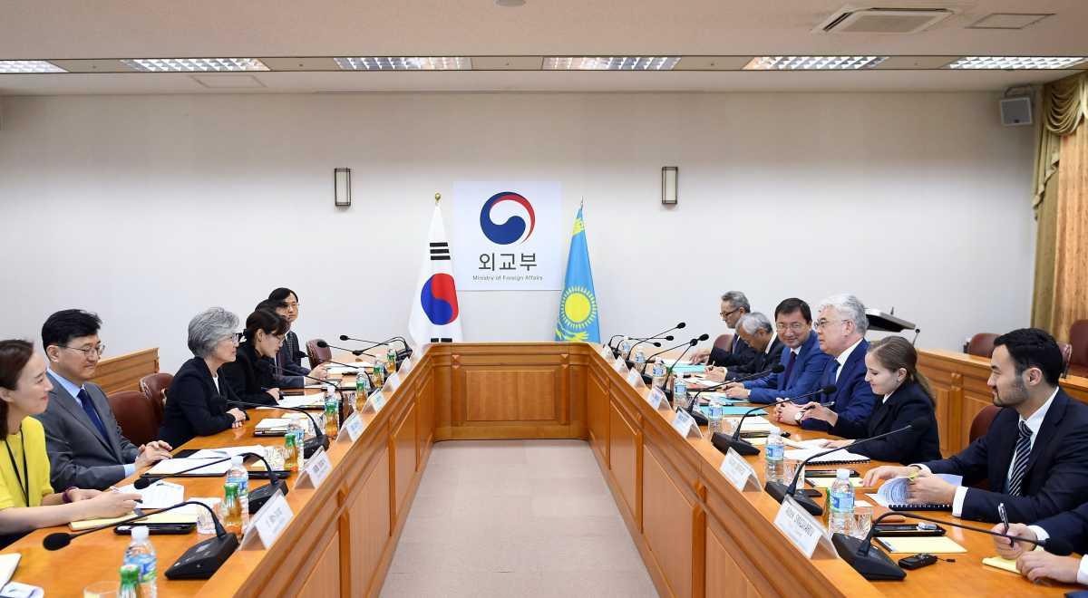 Қазақстан мен Корея арасындағы тауар айналымы көлемі 4 млрд долларды құрады