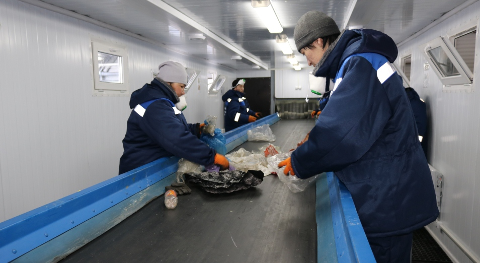 В Уральске начал работу завод по переработке мусора
