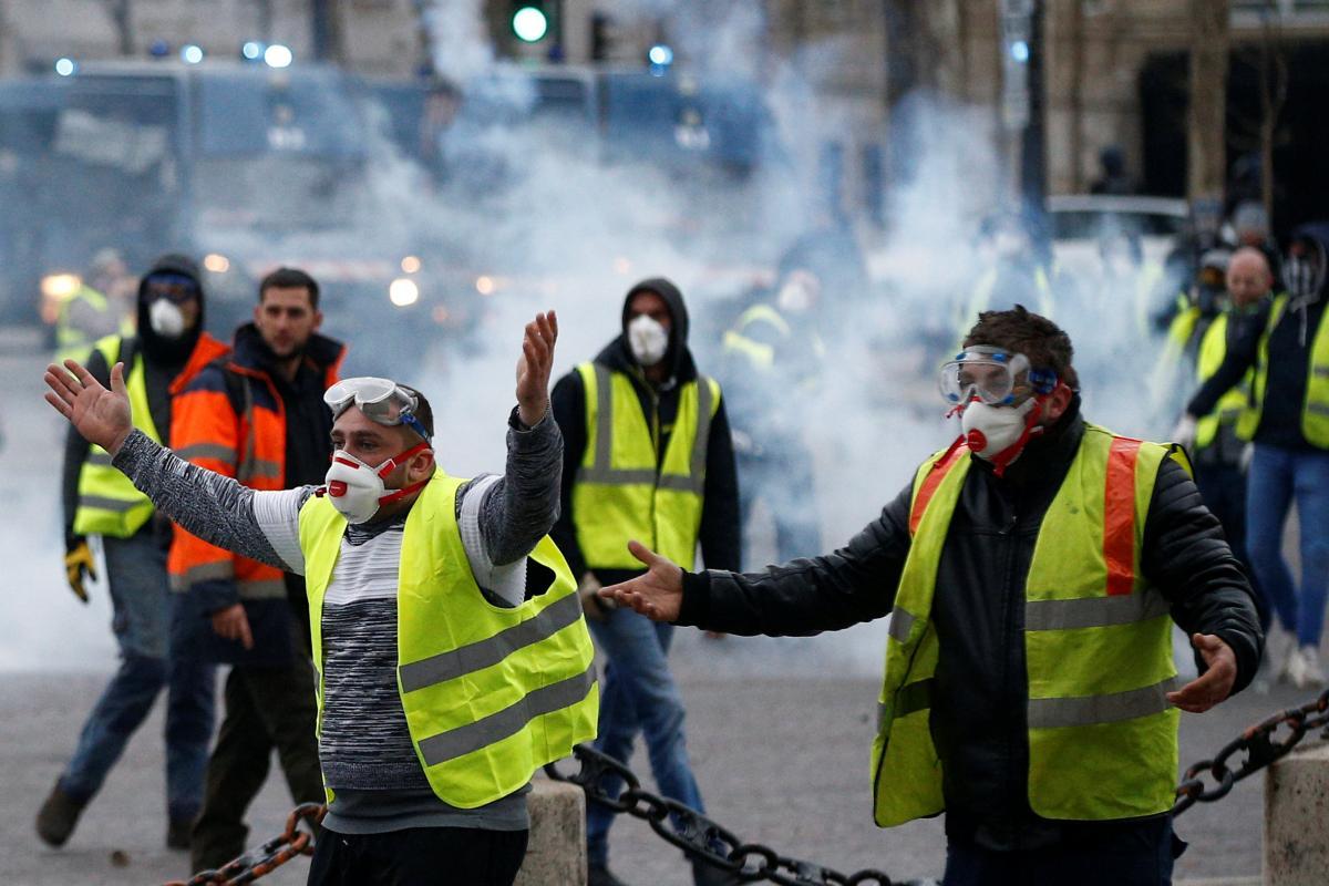 """Французские """"желтые жилеты"""" готовятся уже к 13-й субботней акции протеста"""