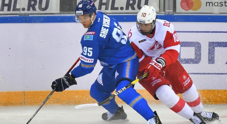 Регулярка КХЛ: «Барыс» в Алматы выдал шатаут