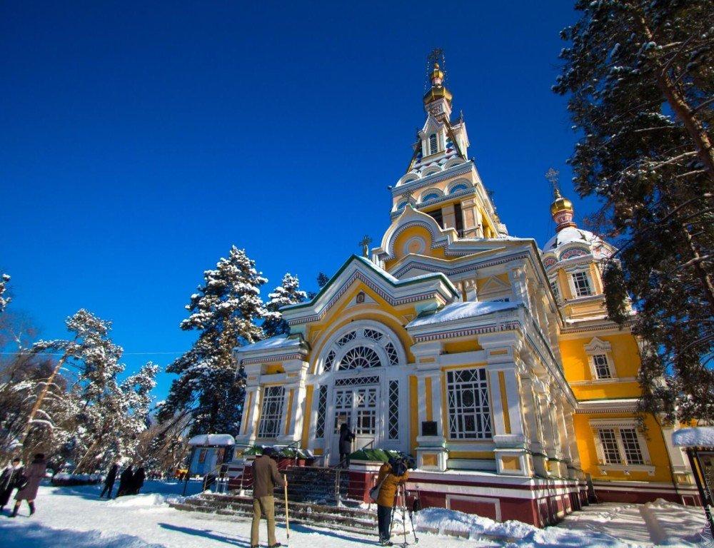 Реставрацию Вознесенского собора в Алматы завершат к Пасхе