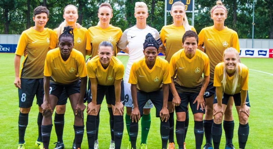 «БИИК-Казыгурт» сенсационно обыграл «Барселону» в женской Лиге Чемпионов