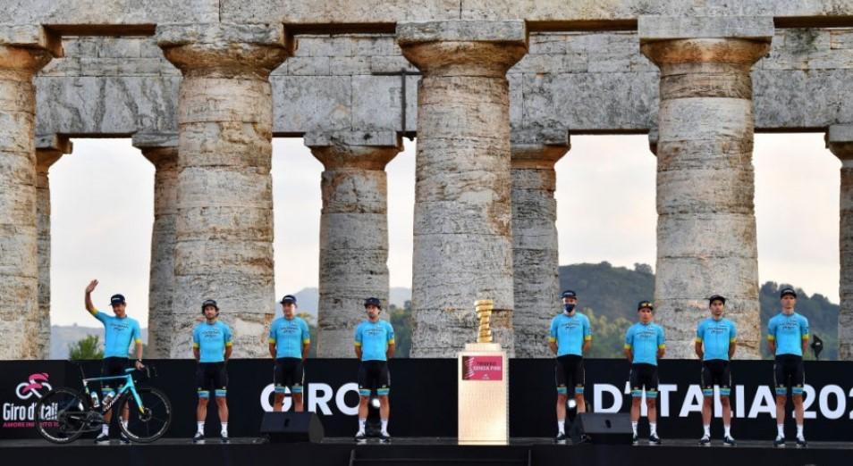 «Джиро д'Италия»: «Астана» теряет Лопеса