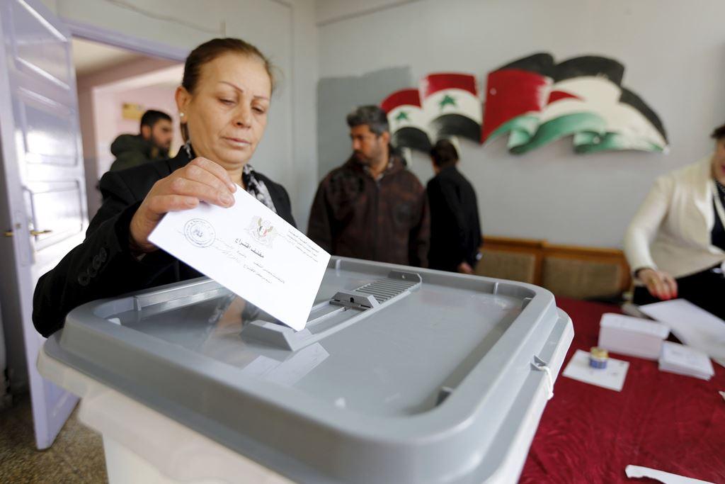 В Сирии начались парламентские выборы