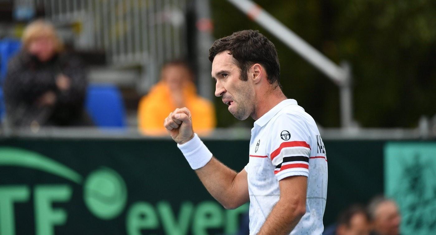 Михаил Кукушкин вышел в  1/8 финала теннисного турнира ATP в Вене