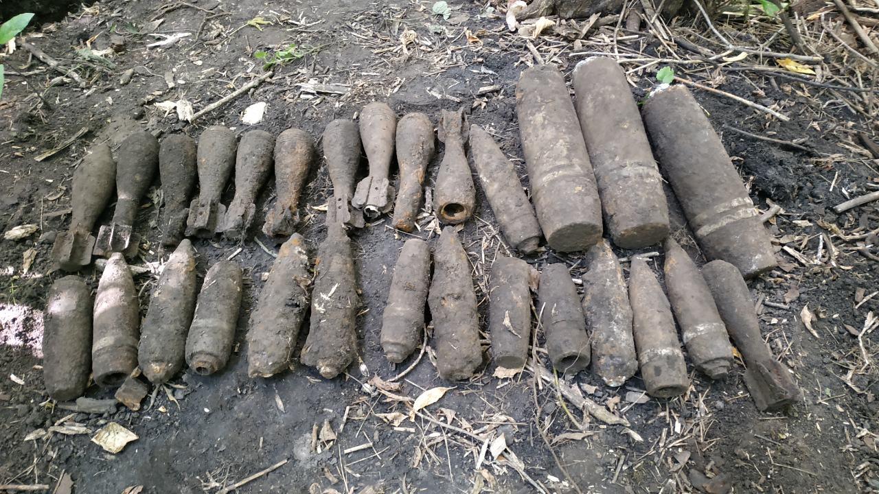 На белорусско-польской границе нашли боеприпасы времен Второй мировой войны