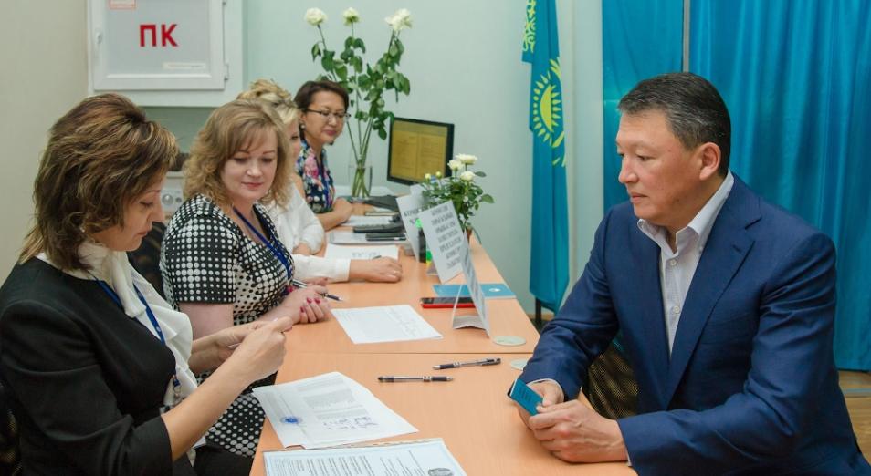 Тимур Құлыбаев президент сайлауында дауыс берді