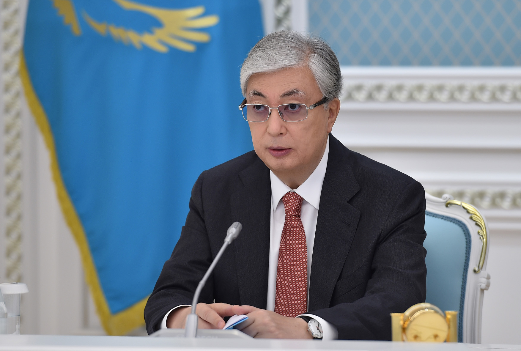 Токаев: «Конституция создала прочный правовой базис нашей независимости»