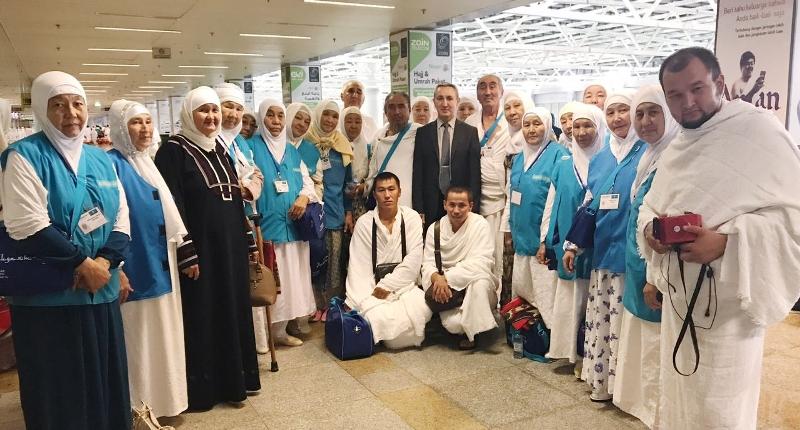 Казахстанские паломники прибыли в Саудовскую Аравию