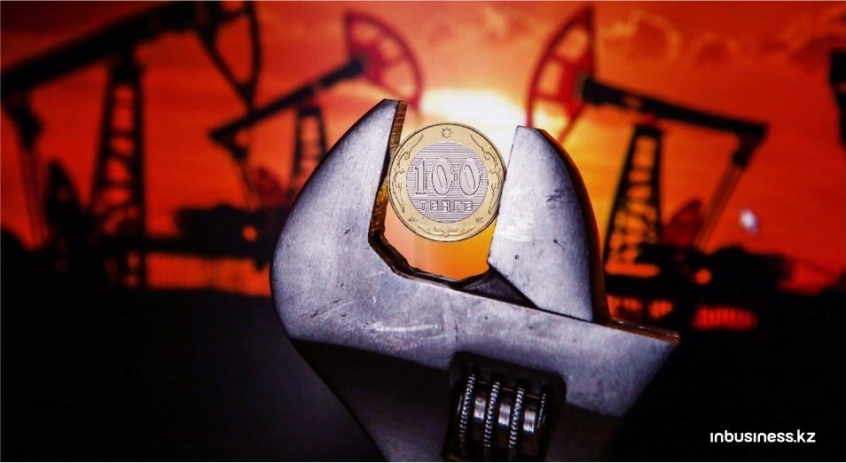 Цены на нефть ослабили тенге