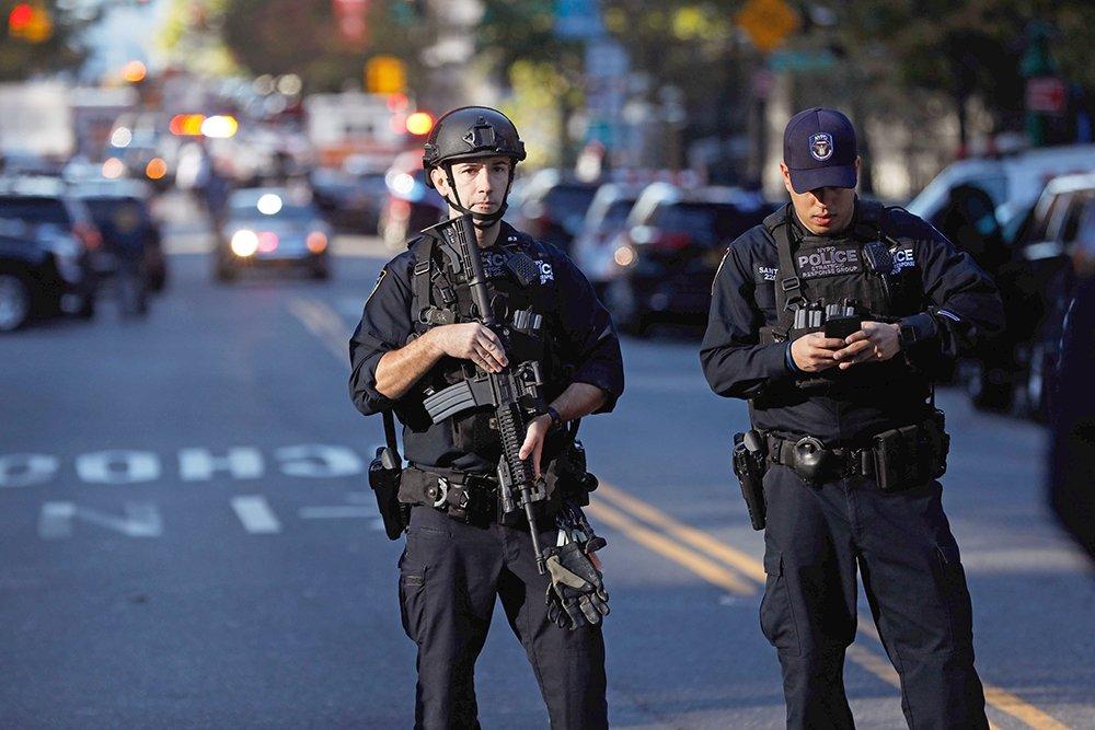 В Нью-Йорке задержали подозреваемого в организации теракта