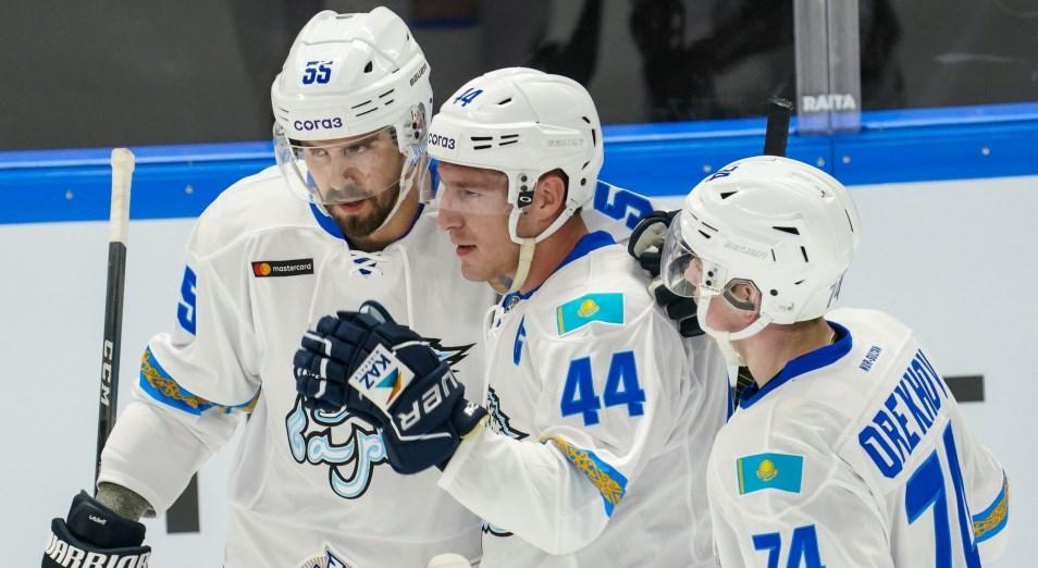 КХЛ: «Барыс» обыграл рижан за один период