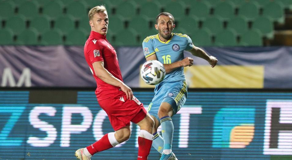 Лига Наций: Аут от Суюмбаева принес победу Белоруссии