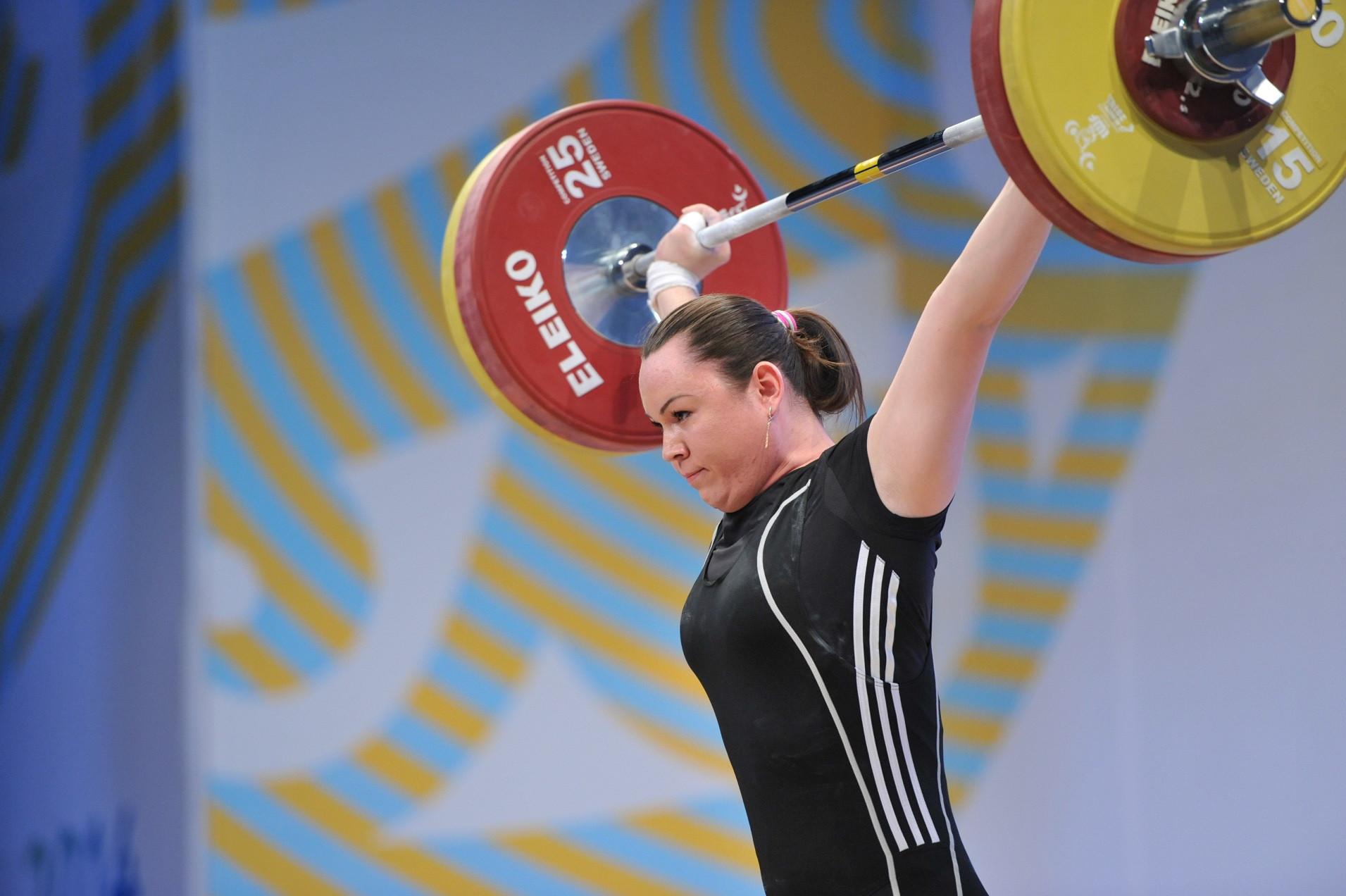 Анна Нурмухамбетова признана бронзовым призером Олимпиады-2012 по тяжелой атлетике