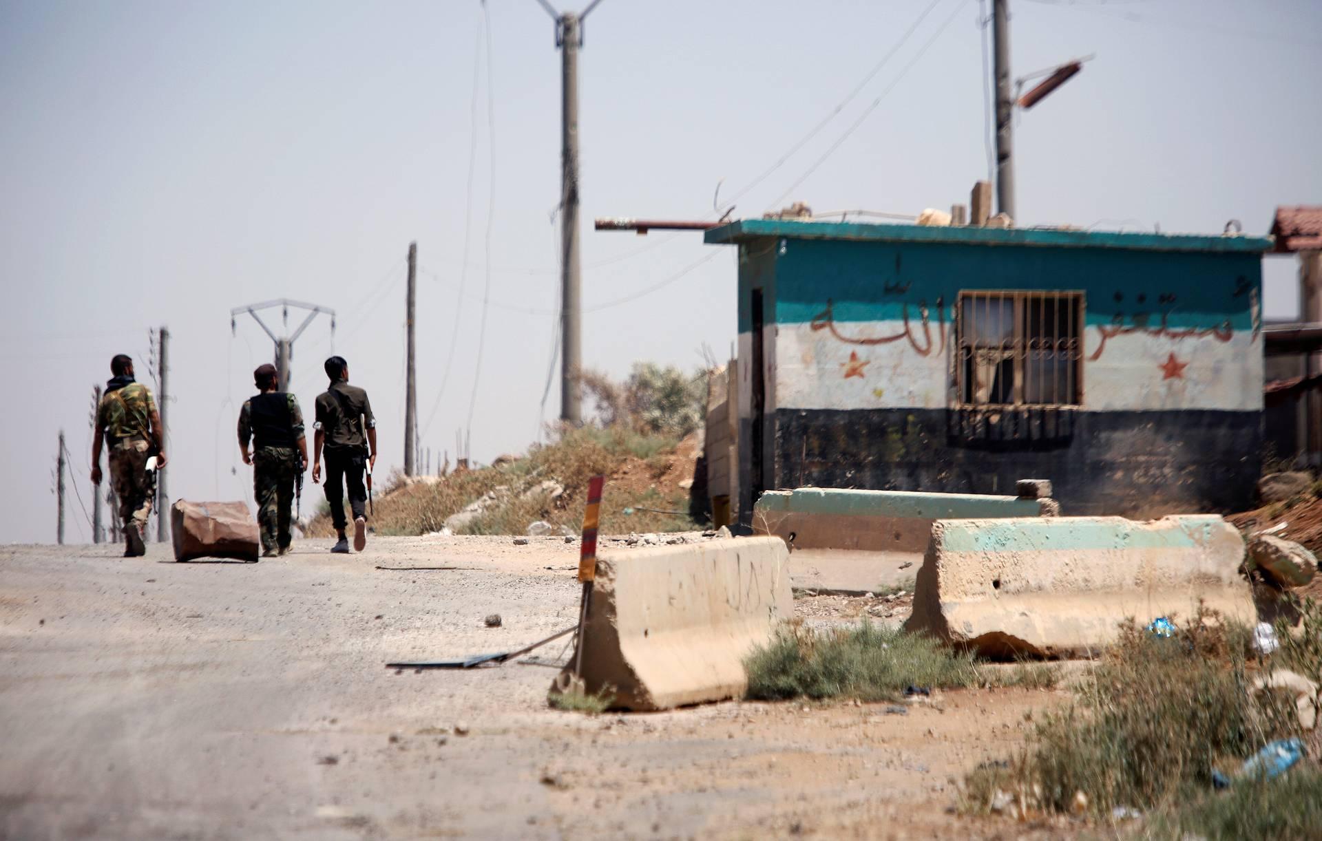 Армия Сирии нанесла удары по террористам, нарушившим перемирие в зоне деэскалации