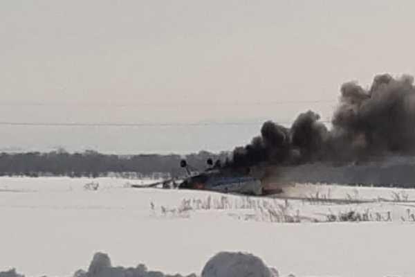 Самолет Ан-2 совершил вынужденную посадку близ Усть-Каменогорска