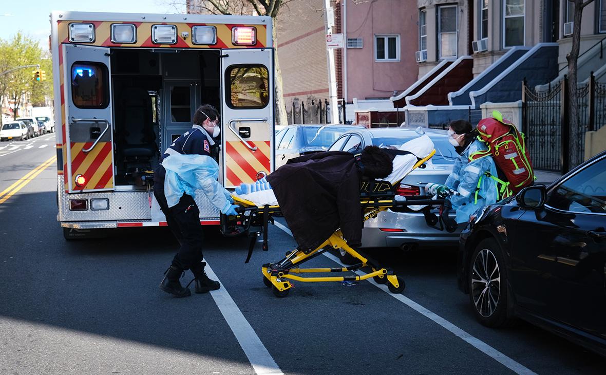 Количество случаев COVID-19 в США достигло 1,287 млн