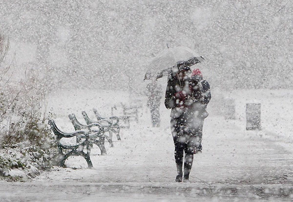 На Северный Казахстан надвигается метель