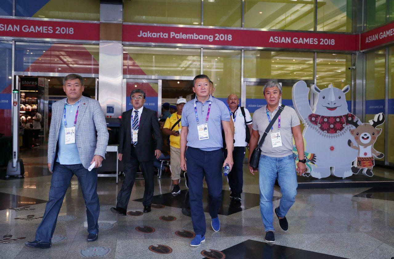 Президент НОК РК Тимур Кулибаев прибыл на Азиатские игры в Джакарту