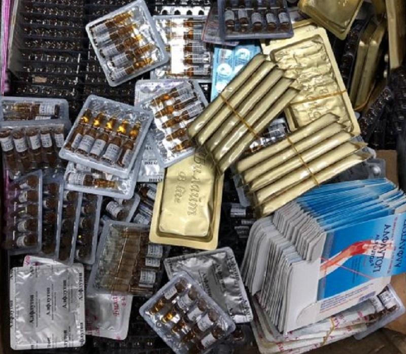 Пограничники РК пресекли контрабанду крупных партий лекарств, пиротехники и газовых счётчиков