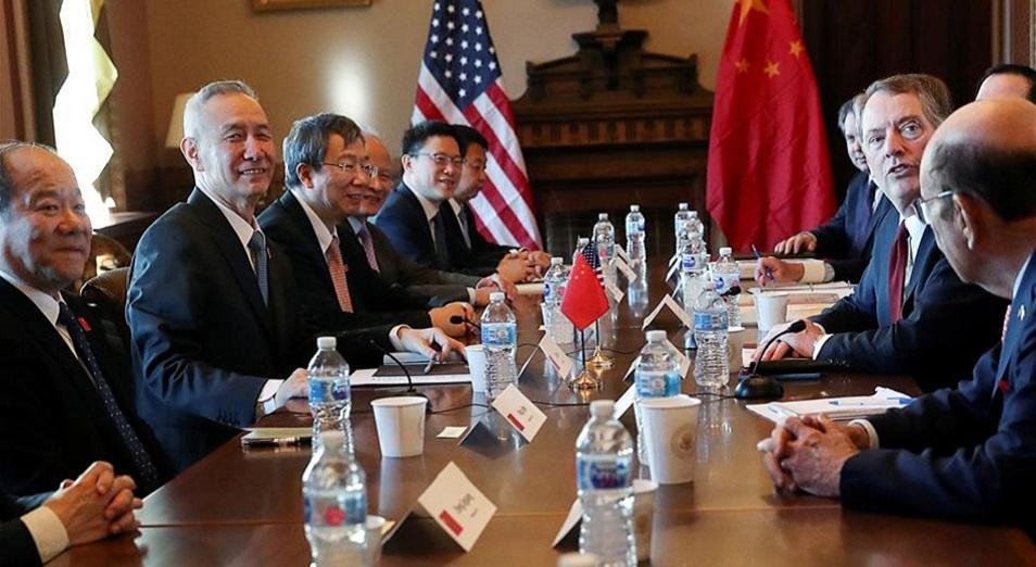 АҚШ-Қытай келіссөздері нәтижесіз аяқталды