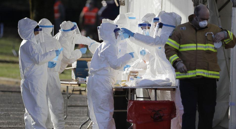 Вторая волна коронавируса разгорается в Европе и США