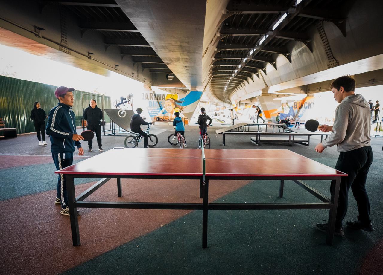 Еще одно подмостовое пространство открыли в Нур-Султане
