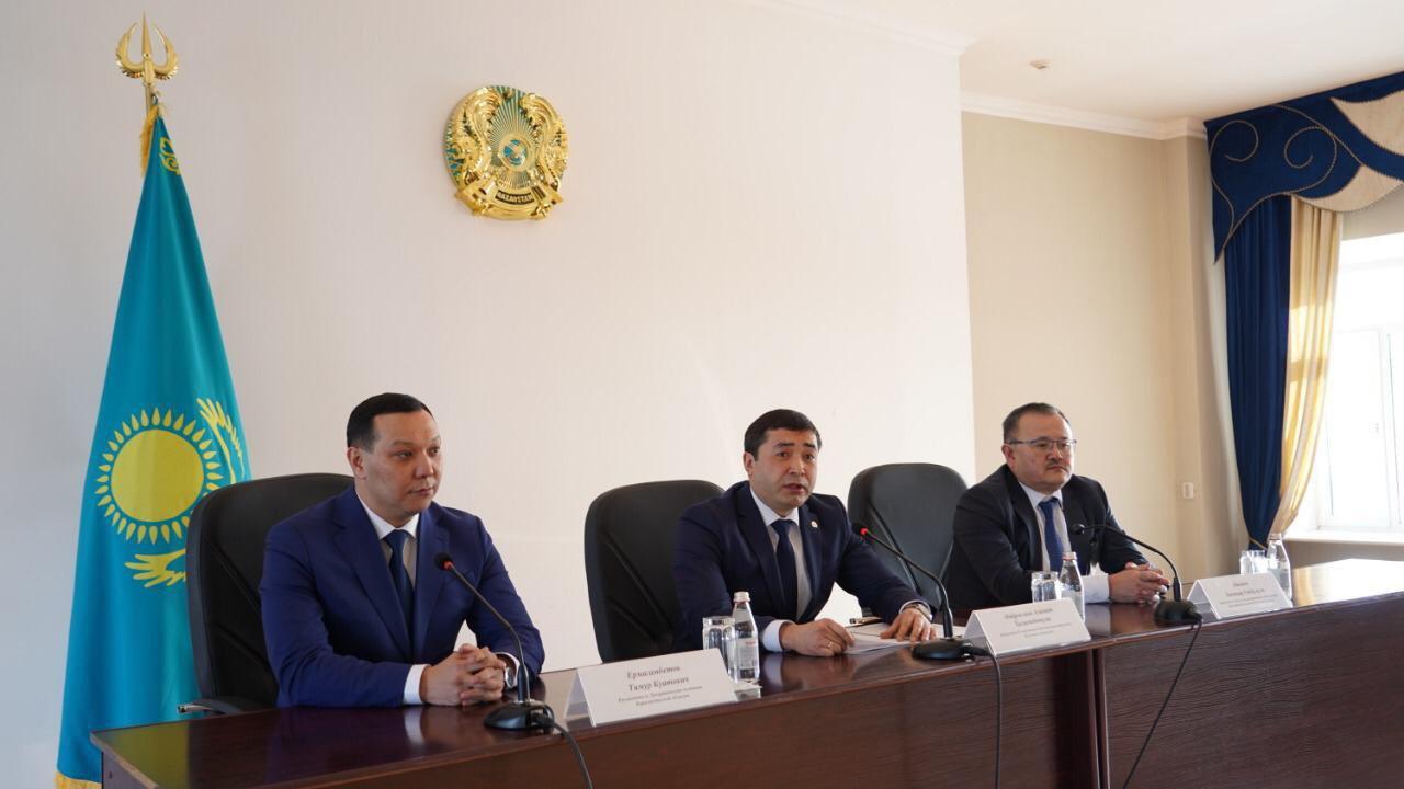 Назначен руководитель департамента юстиции Карагандинской области