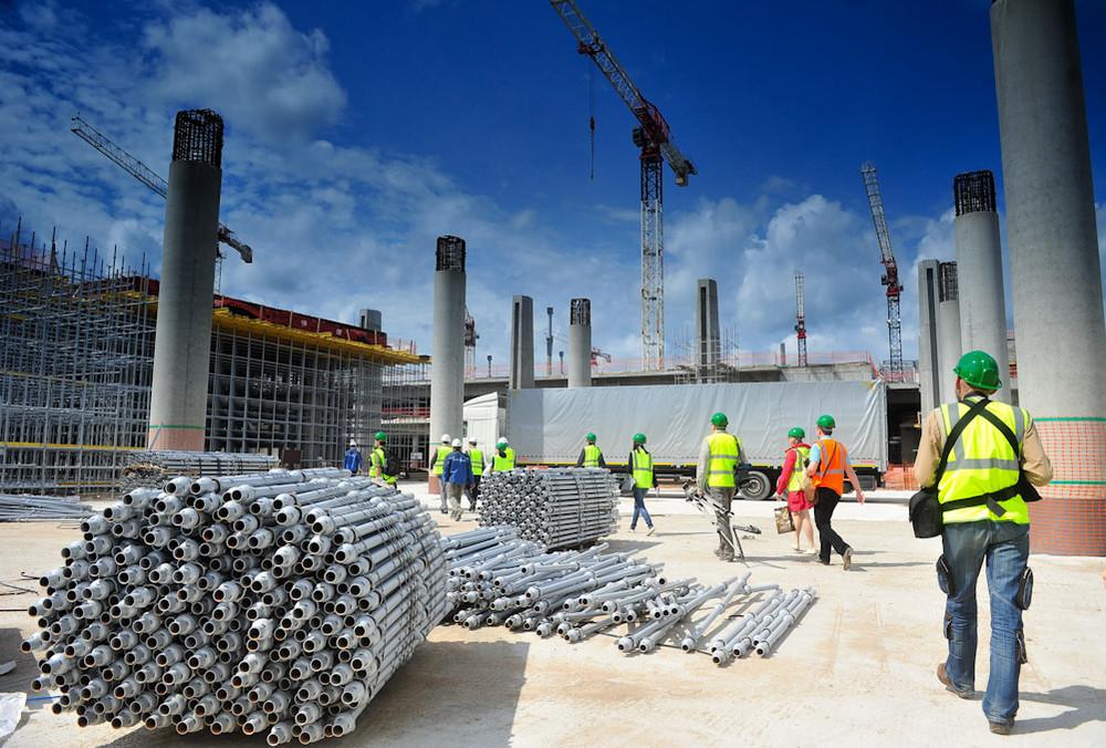 В Казахстане вырос объем строительных работ