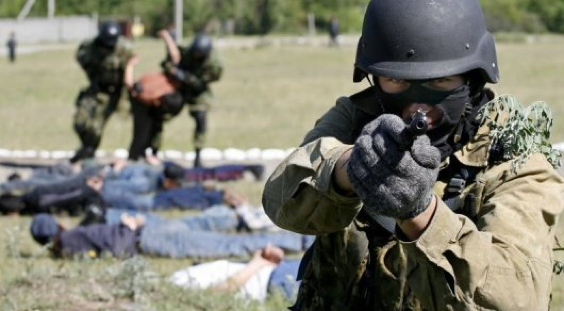 В аэропорту Алматы проходит антитеррористическое учение