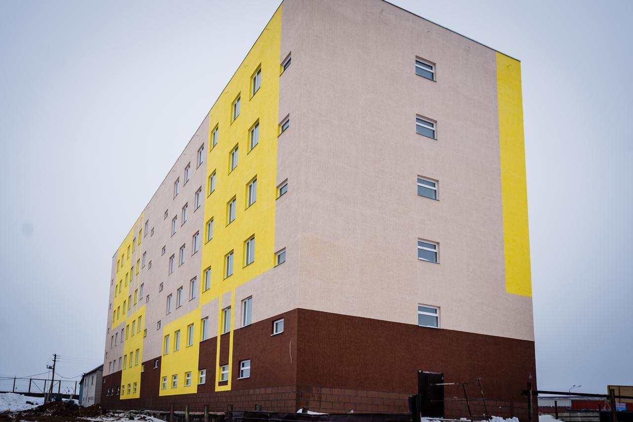 Для сотрудников нового крытого рынка в Нур-Султане построено общежитие