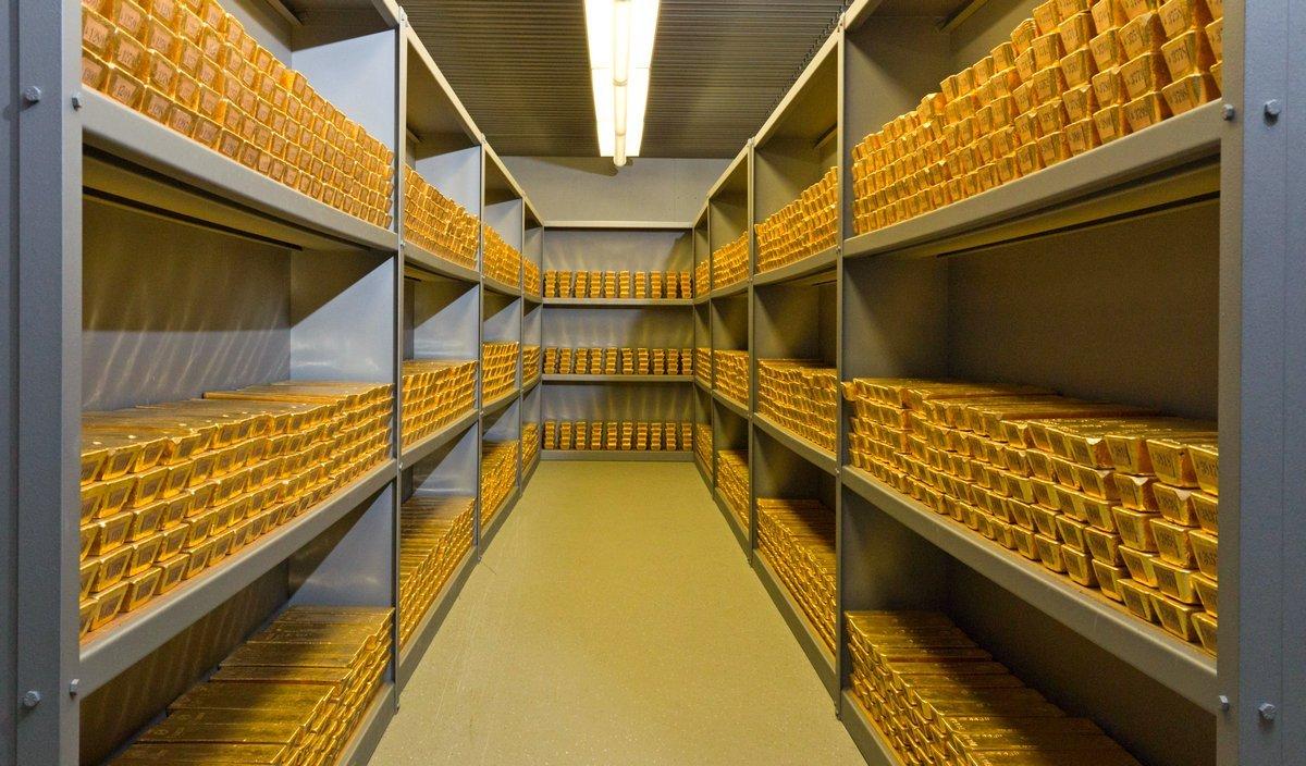 Глобальные запасы золота выросли на 68%