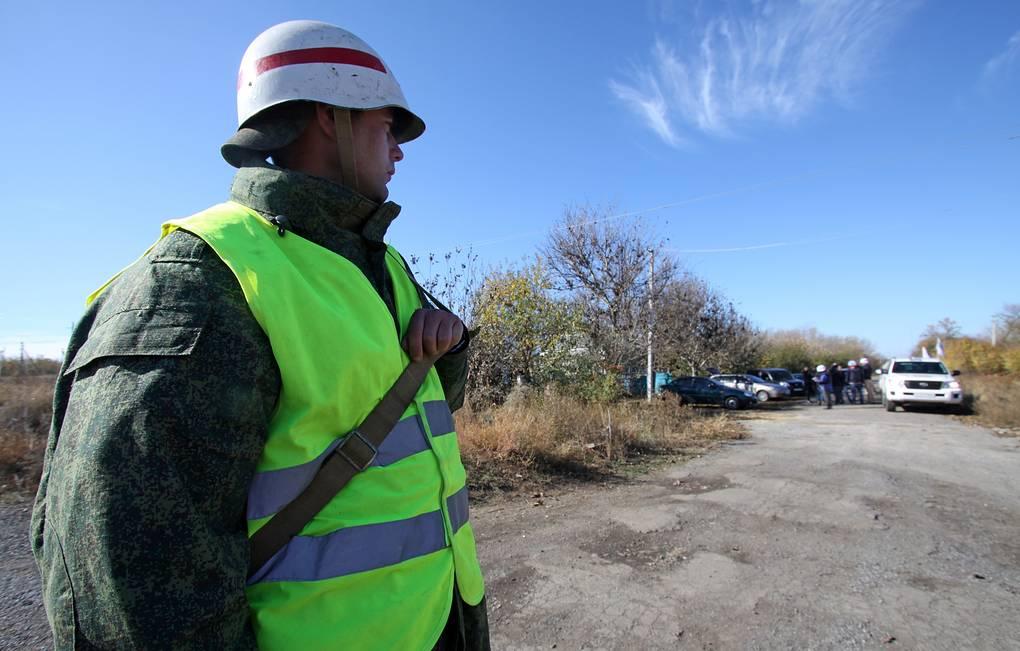 Украина и ДНР приступили к отводу сил от линии соприкосновения в районе Петровского