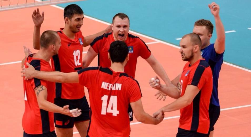 Кубок Азии по волейболу: Казахстан стал первым в «группе смерти»