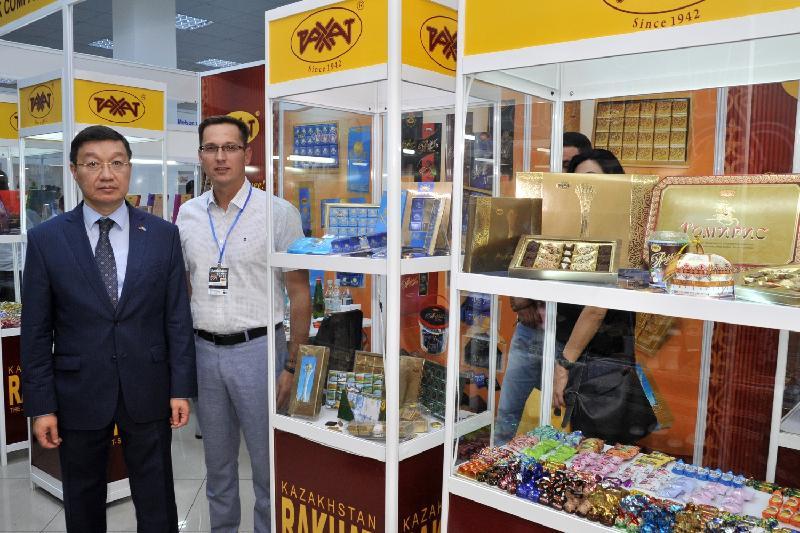 Кондитерская компания «Рахат» представила свою продукцию на международной выставке в Ереване