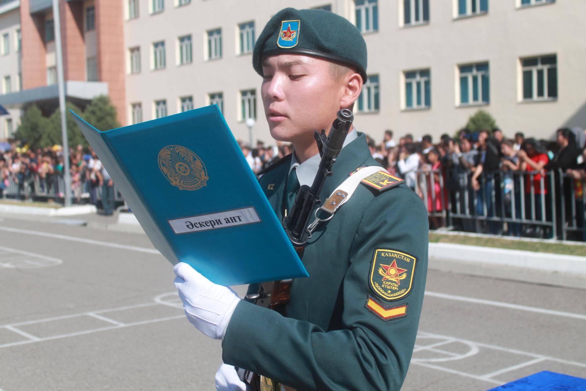 Курсанты Военного института Сухопутных войск приняли Военную присягу