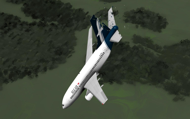 Boeing 737 совершил посадку на реку во Флориде