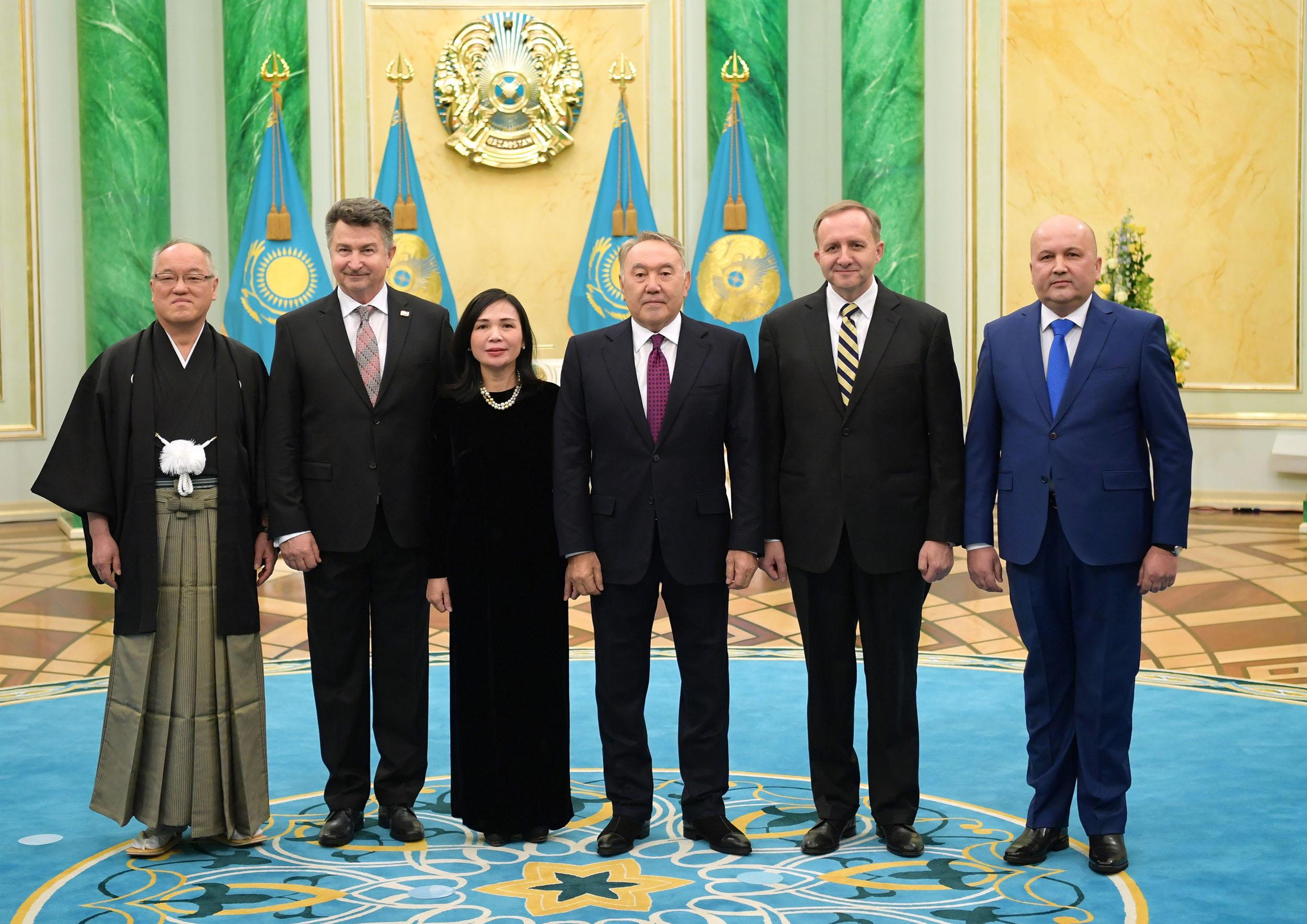 «РЭПортаж»: о встрече Нурсултана Назарбаева с послами, вовлечении молодежи в бизнес и программе «Баспана хит»