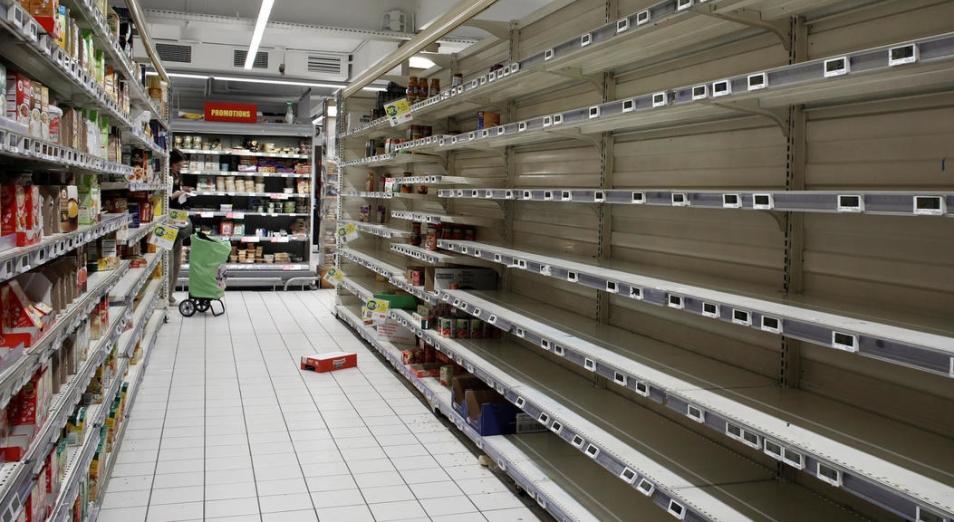 В некоторых супермаркетах Актобе исчезли сахар и гречка