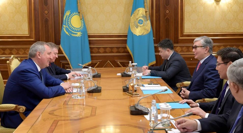 Касым-Жомарт Токаев обсудил с главой «Роскосмоса» сотрудничество в космической сфере