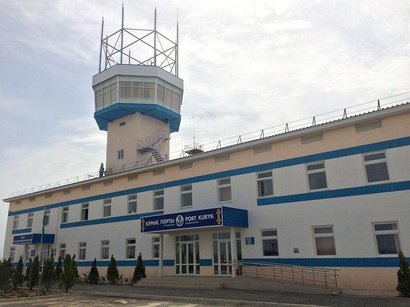 Нурсултану Назарбаеву презентован мультимодальный транспортный хаб – порт Курык