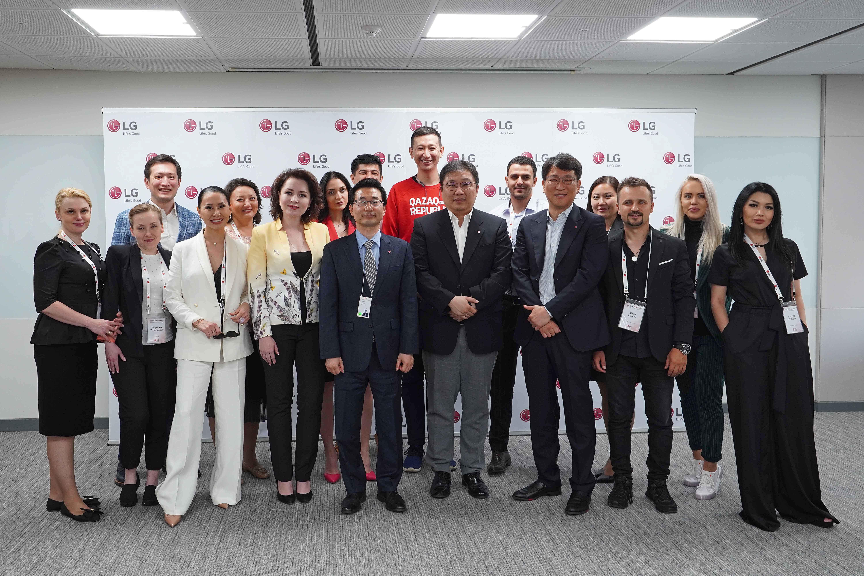 LG Electronics представила свои новейшие разработки бытовой техники для казахстанских потребителей