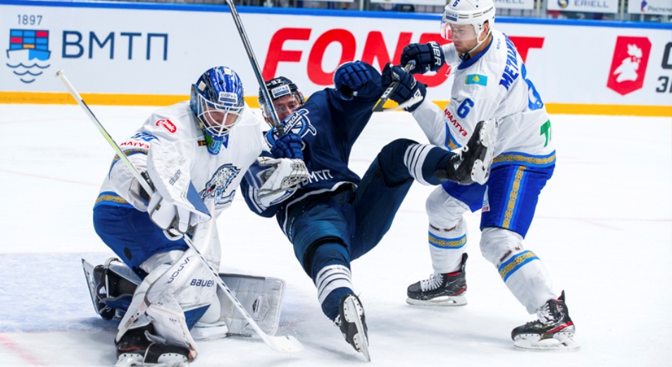Регулярка КХЛ: «Адмирал» потопил «Барыс» и во Владивостоке