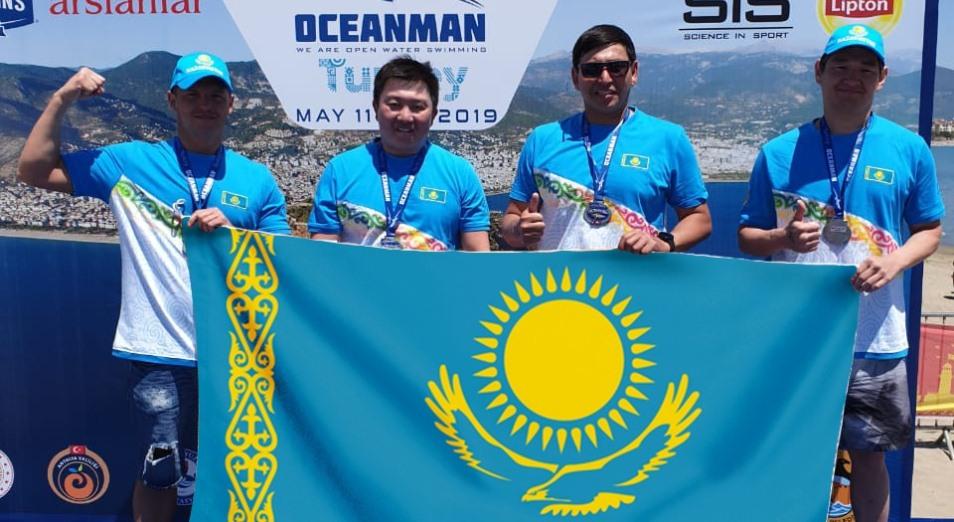 Казахстанец Дмитрий Деревянко вошел в тройку лучших в Oceanman в Турции