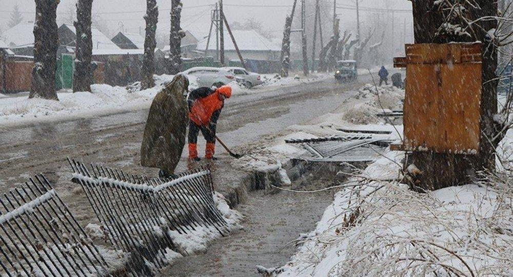В ряде регионов объявлено штормовое предупреждение из-за таяния снега