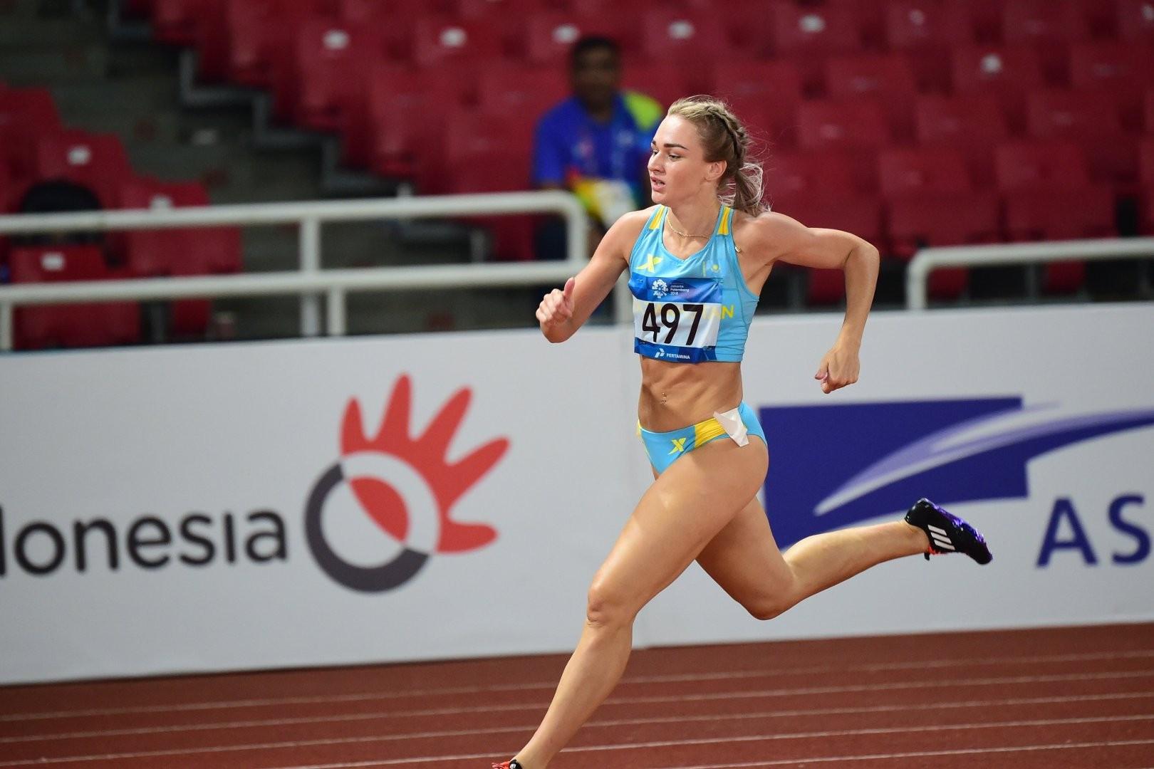 Элина Михина жеңіл атлетикадан Азия чемпионатының «күмісін» еншіледі